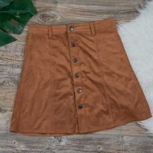 Mossimo Supply Co. button down skirt